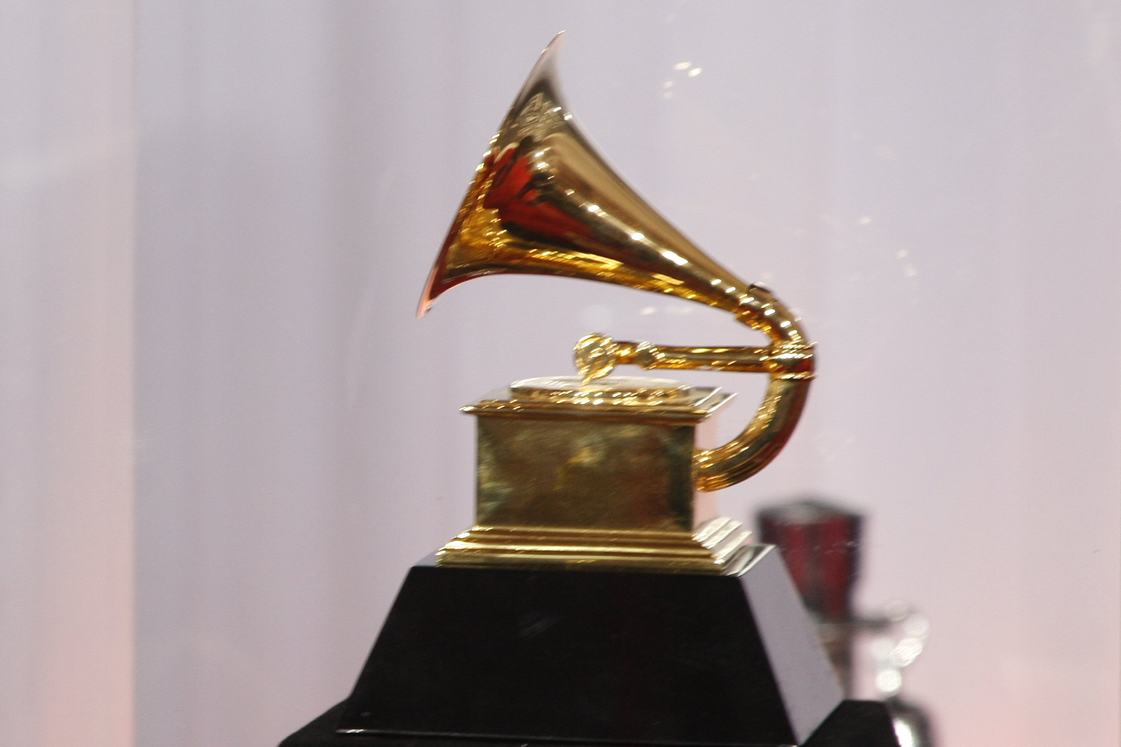 Grammy statue at the 52nd Annual Grammy Awards held at the Nokia Theater on January 31, 2010 in Los Angeles, California   Photo: Shutterstock
