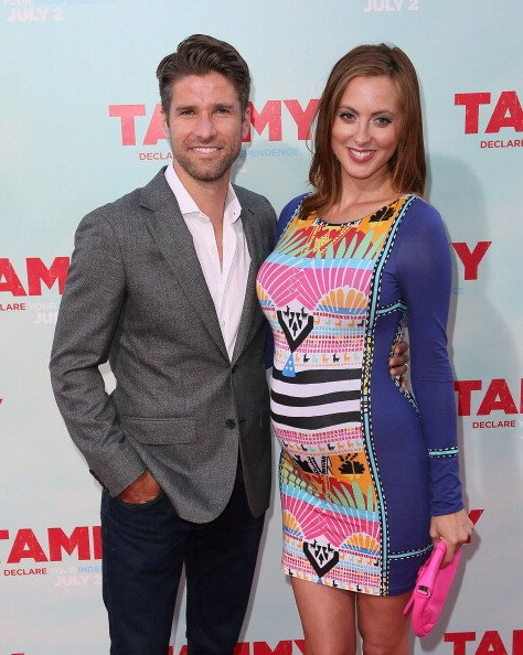 Eva Amurri Martino et Kyle Martino au TCL Chinese Theatre le 30 juin 2014 à Hollywood en Californie. | Photo: Getty Images