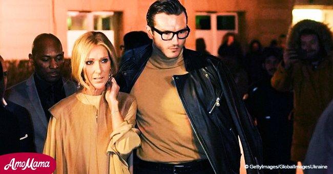 Céline Dion et Pepe Munoz plus séduisants que jamais dans d'élégantes tenues assorties