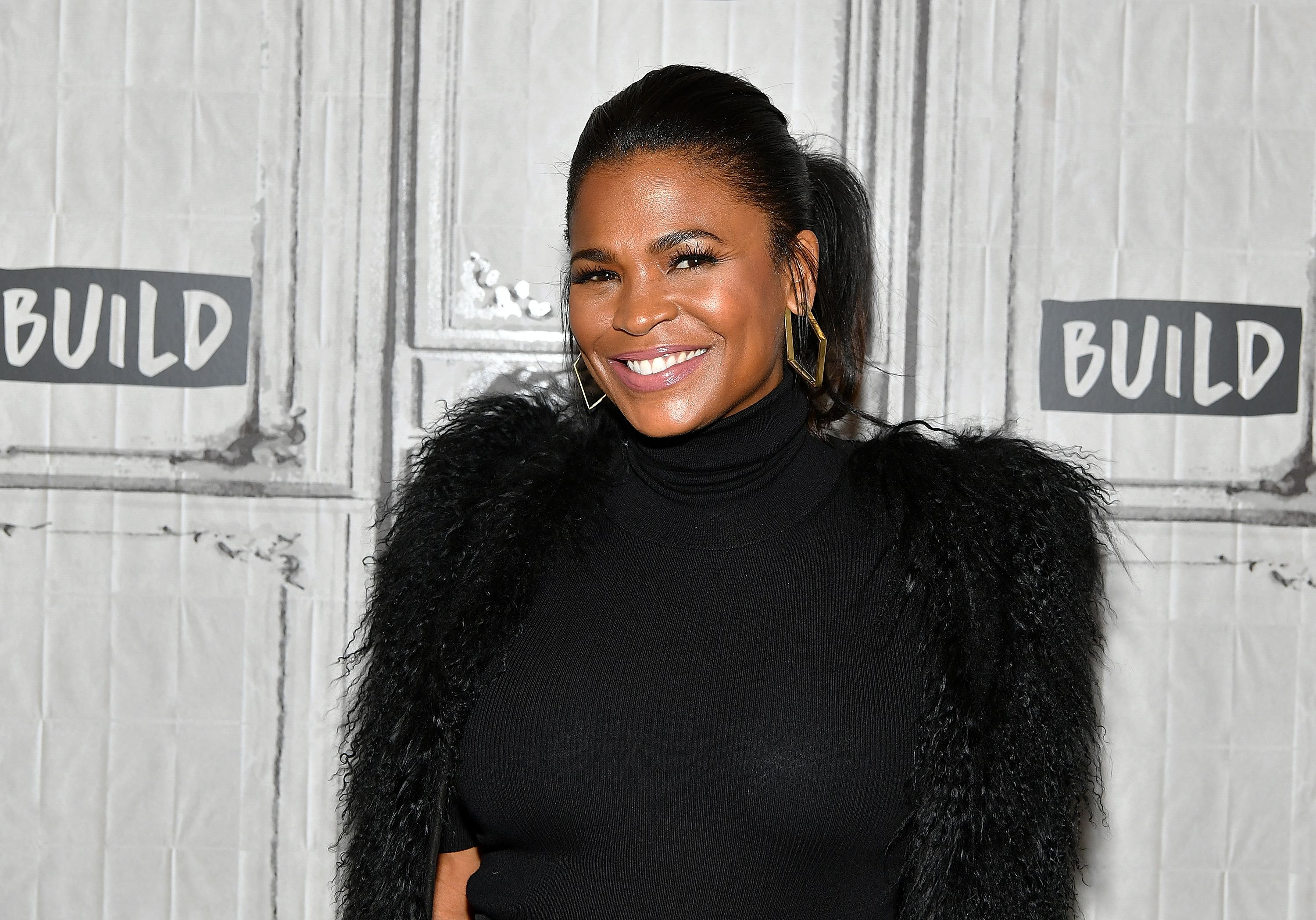 """Nia Long visits Build Series to discuss """"Roxanne Roxanne"""" in  2018 in New York City 