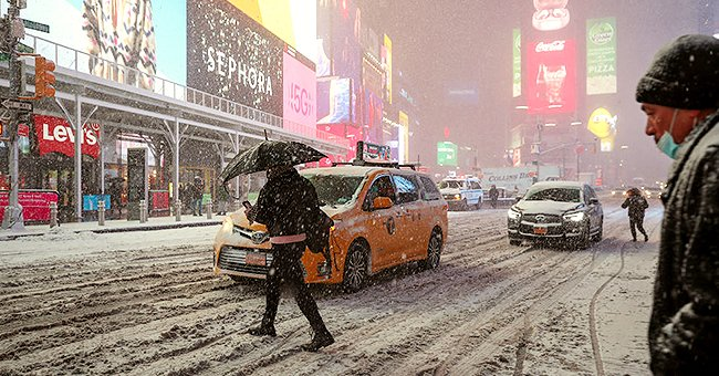 An image of a snowy city | Photo: Getty Images
