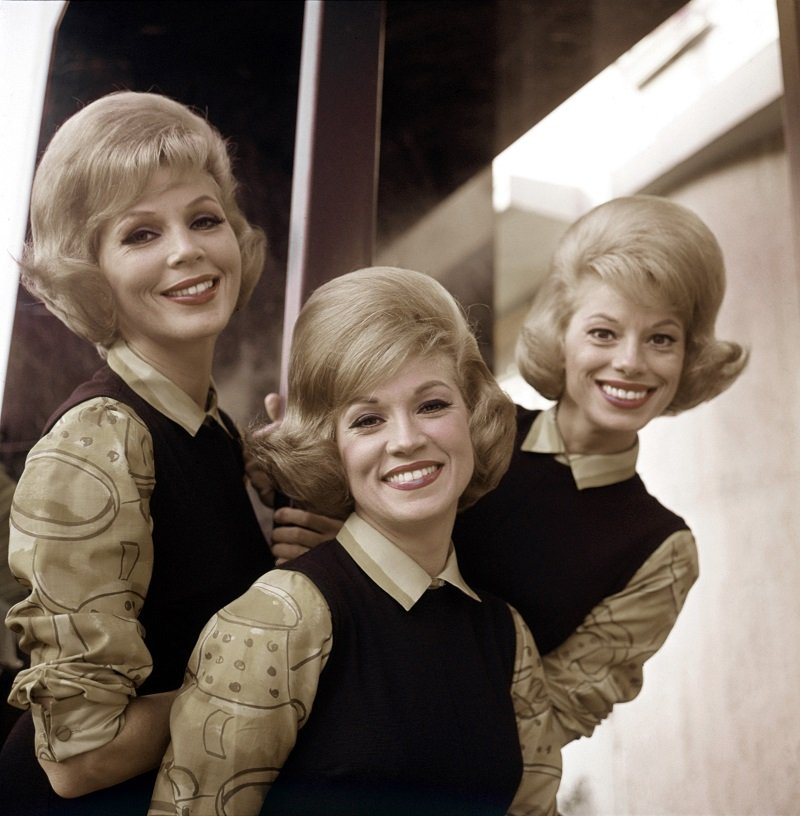 The McGuire Sisters circa 1960 in New York City   Photo: Getty Images