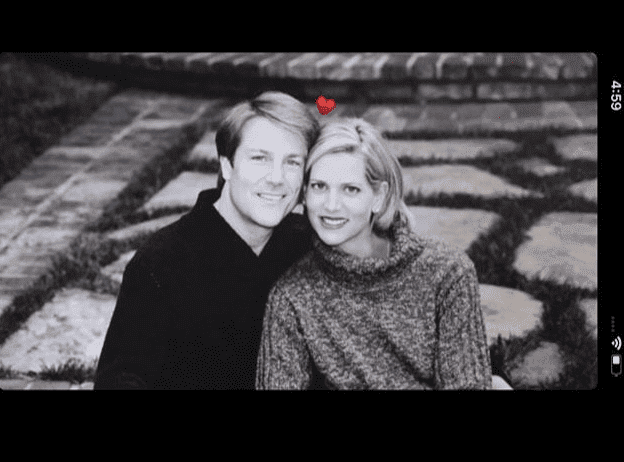 Another polaroid picture of Leslie Landon and Brian Matthews posted by their daughter | Instagram: @rachellynnmatthews
