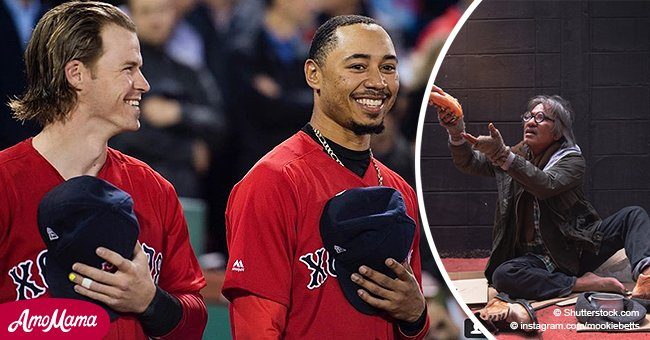Mookie Betts delivered food to the homeless at 1 a.m. after Game 2 win