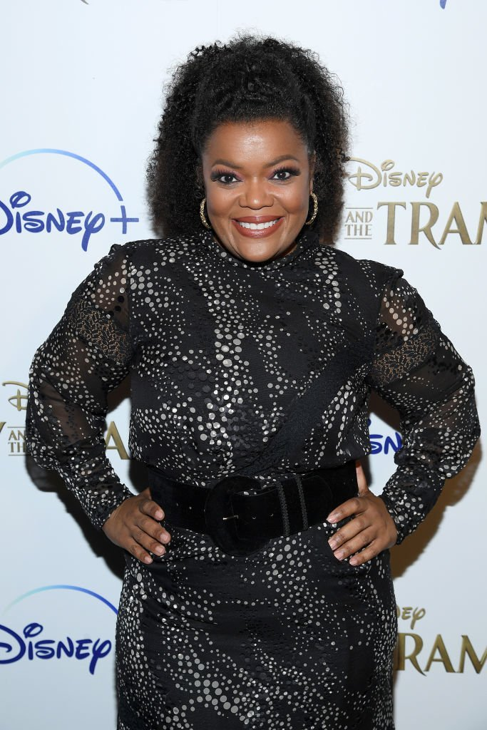 "Yvette Nicole Brown attends as Cinema Society hosts a special screening of Disney+'s ""Lady And The Tramp"" at iPic Theater 
