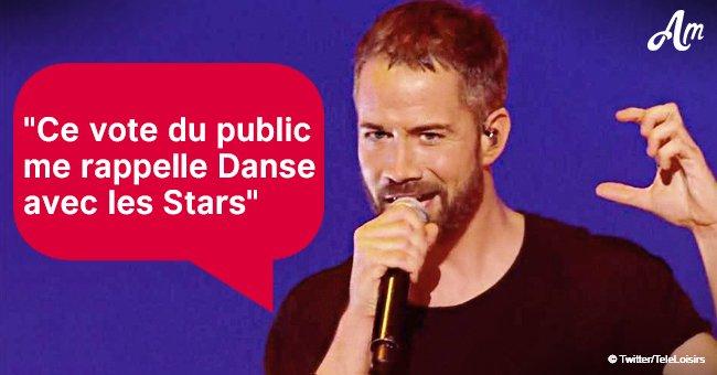 Emmanuel Moire témoigne juste après avoir été acclamé dans Destination Eurovision 2019