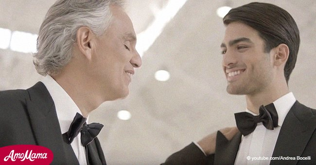 Andrea Bocelli and son Matteo's stunning performance moved fans to tears