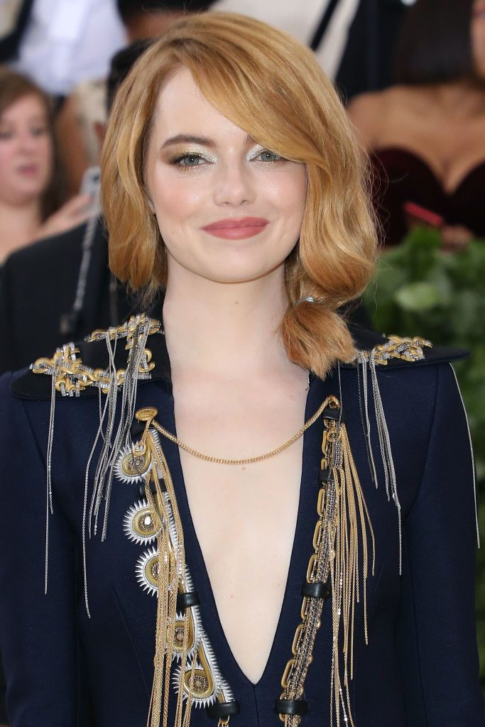 Emma Stone at the 2018 Costume Institute Benefit at Metropolitan Museum of Art on May 7, 2018 | Getty Images