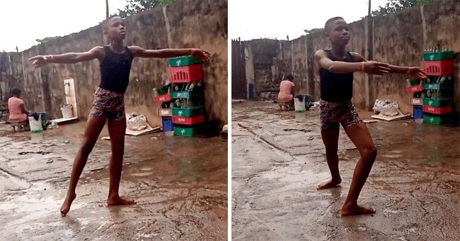 Nigerian Boy Receives a Scholarship after His Video Dancing in the Rain Went Viral –– inside the School's Offer