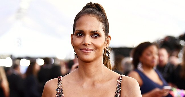 Halle Berry Shows off Her Fit Body While Working Out inside a Boxing Ring