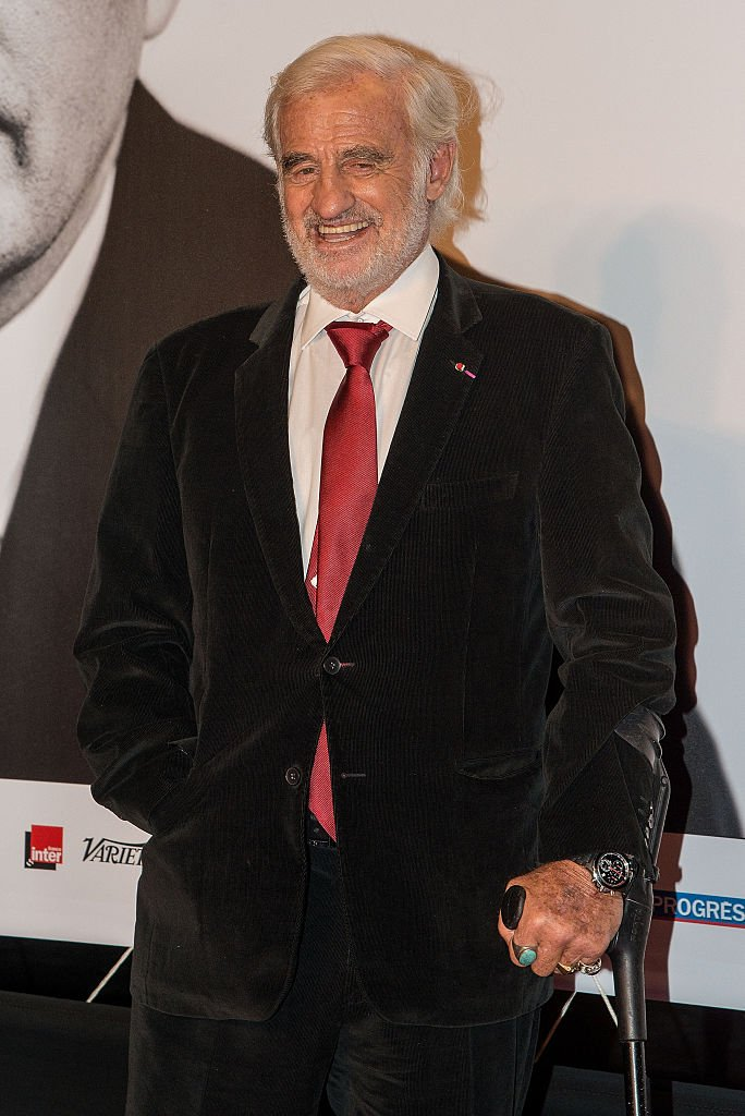 Jean-Paul Belmondo à Lyon au 7ème festival du film Lumière. l Source: Getty Images