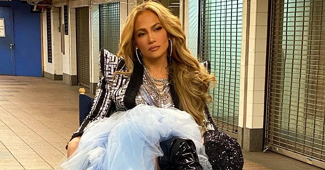 Jennifer Lopez Channels 'Cinderella' in a Gorgeous Blue Gown – Check It Out Here