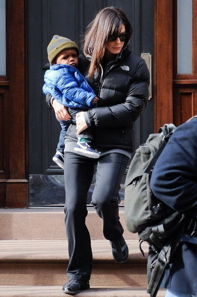 Actress Sandra Bullock  and her son Louis Bullock | Photo: Getty Images