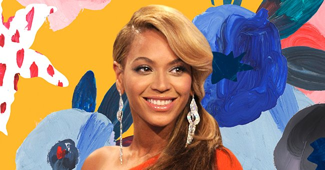 Beyoncé Pours Fuller Curves into a Yellow Mini Dress & Carries Matching Blue Purse in Gorgeous Pics