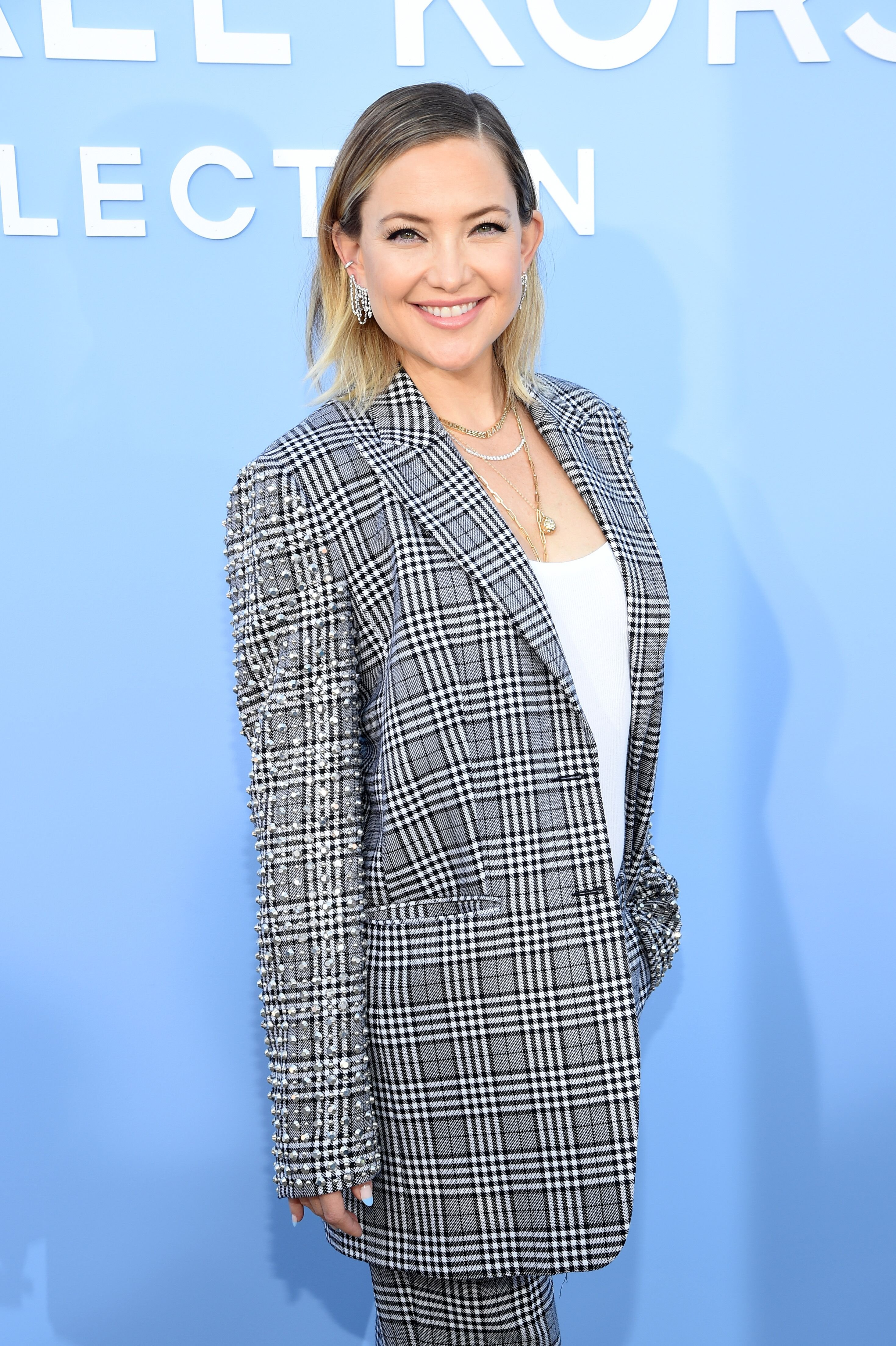 Kate Hudson at the Michael Kors Collection Spring Runway Show on September 11, 2019, in Brooklyn City | Photo: Lawrence Busacca/Getty Images