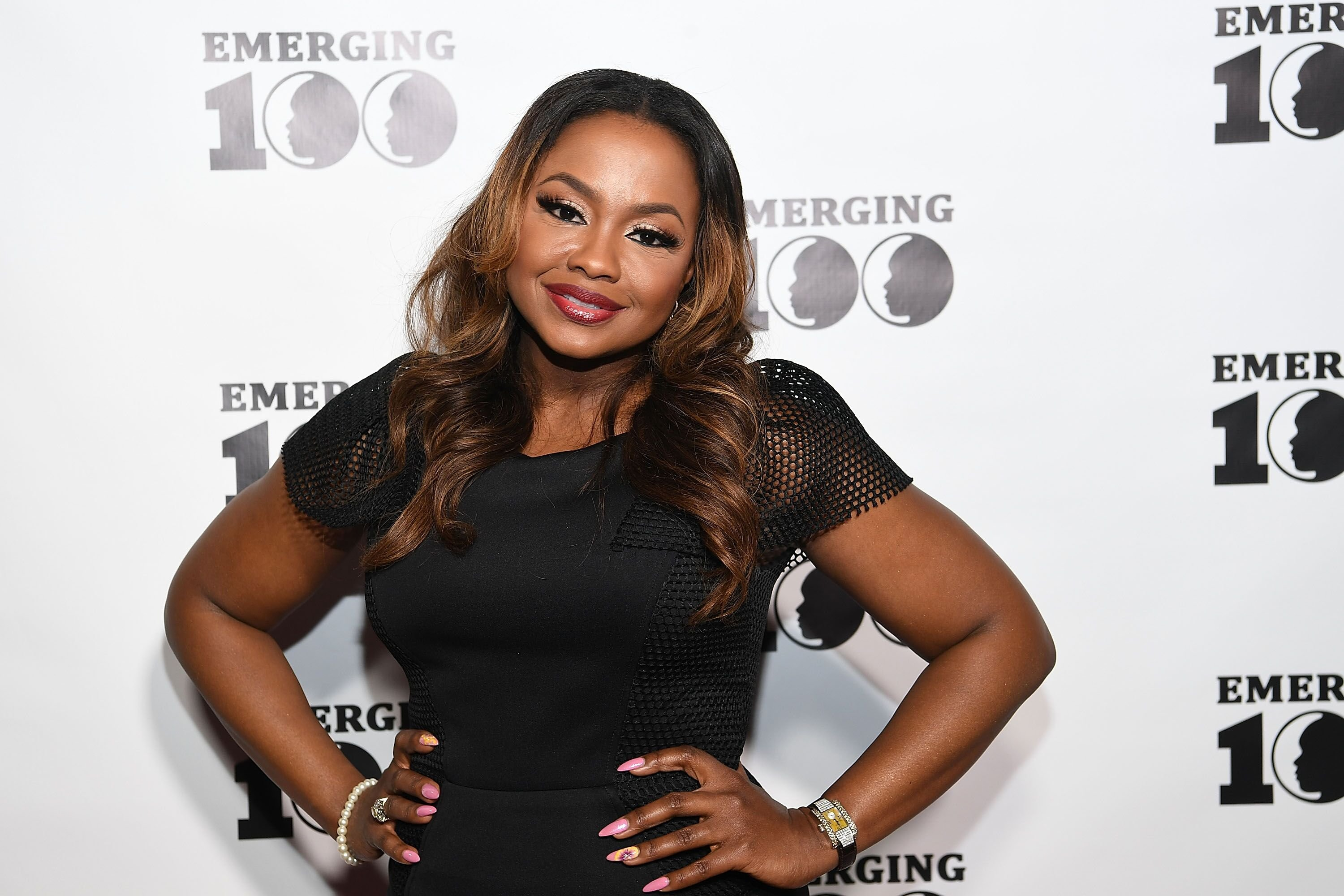 Phaedra at the red carpet of the Emerging 100 Event  | Source: Getty Images/GlobalImagesUkraine