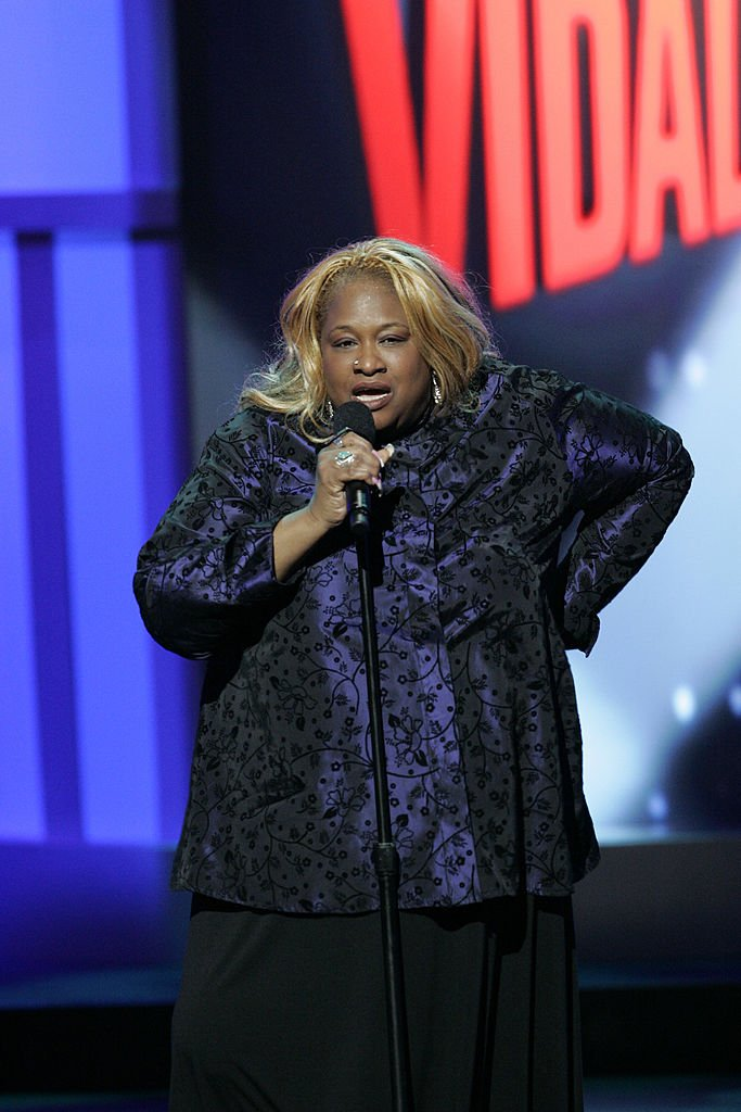 """Comedian Thea Vidale during her 2007 performance in the show """"Last Comic Standing."""" 