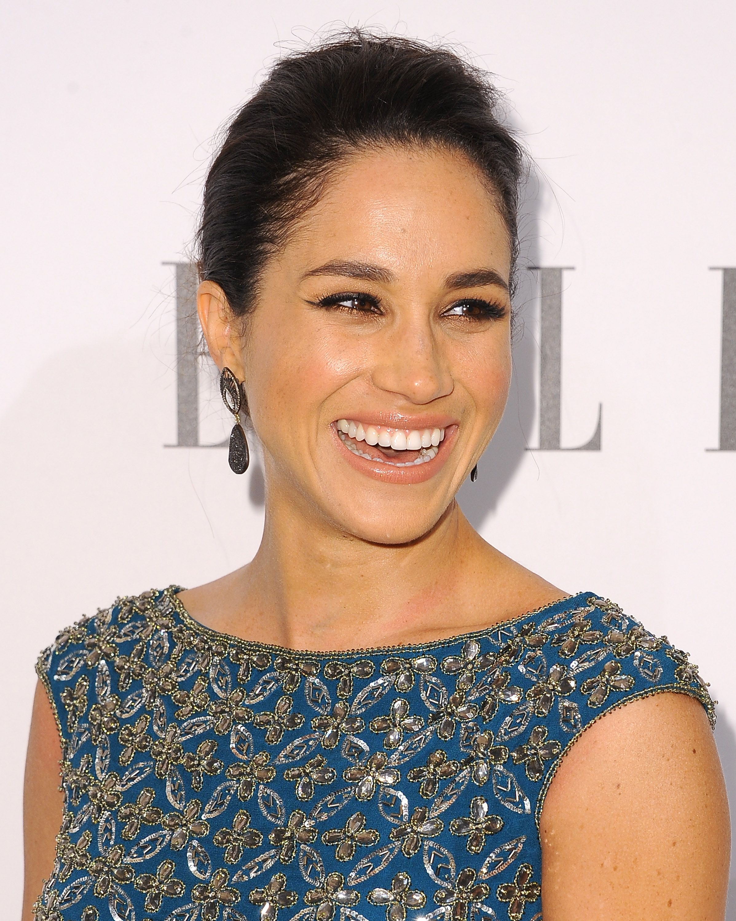 Meghan Markle during ELLE's Annual Women in Television Celebration at Sunset Tower on January 22, 2014 in West Hollywood, California. | Source: Getty Images