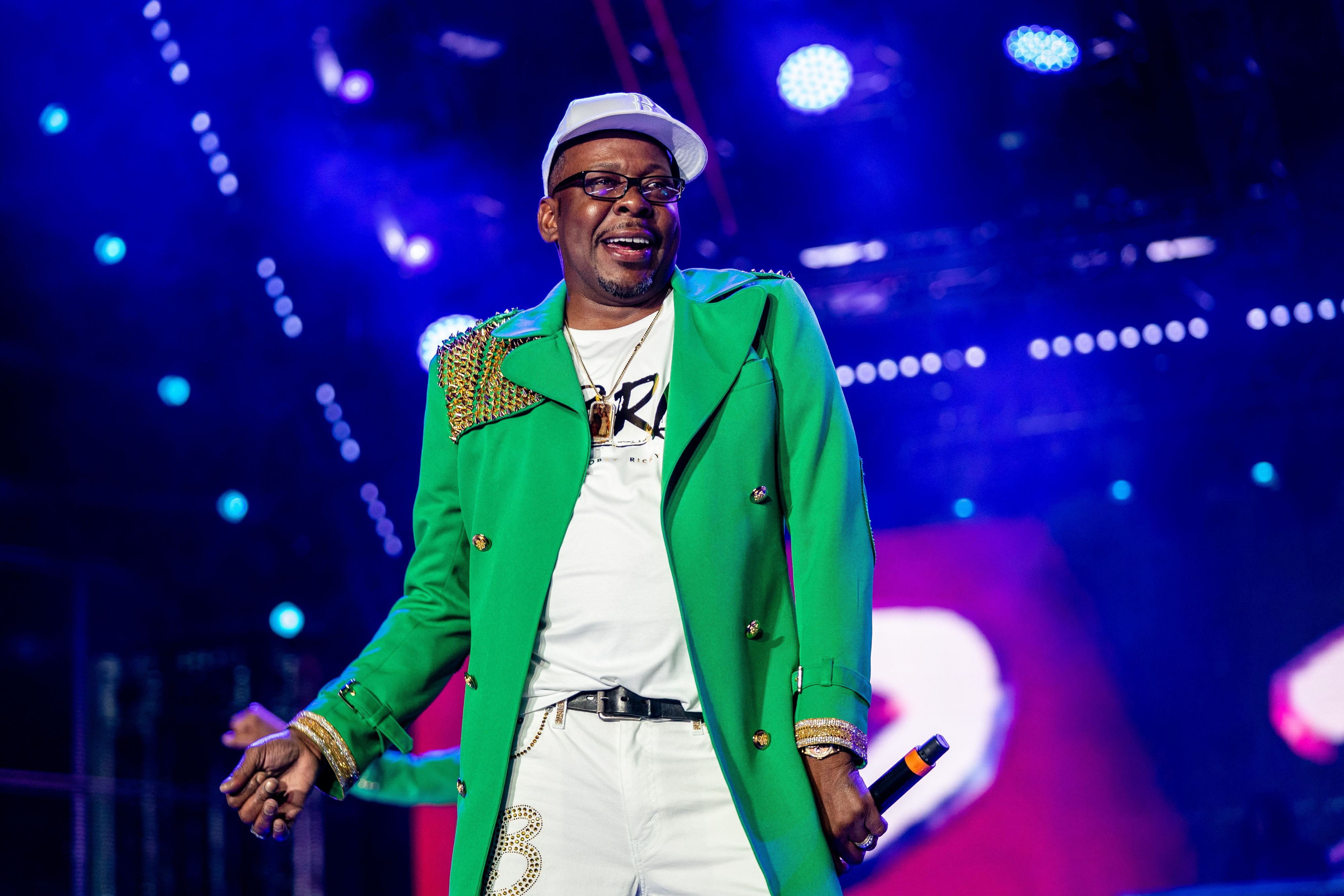 Bobby Brown performs during the 25th Essence Festival, in New Orleans, Louisiana on July 05, 2019.   Photo: Getty Images