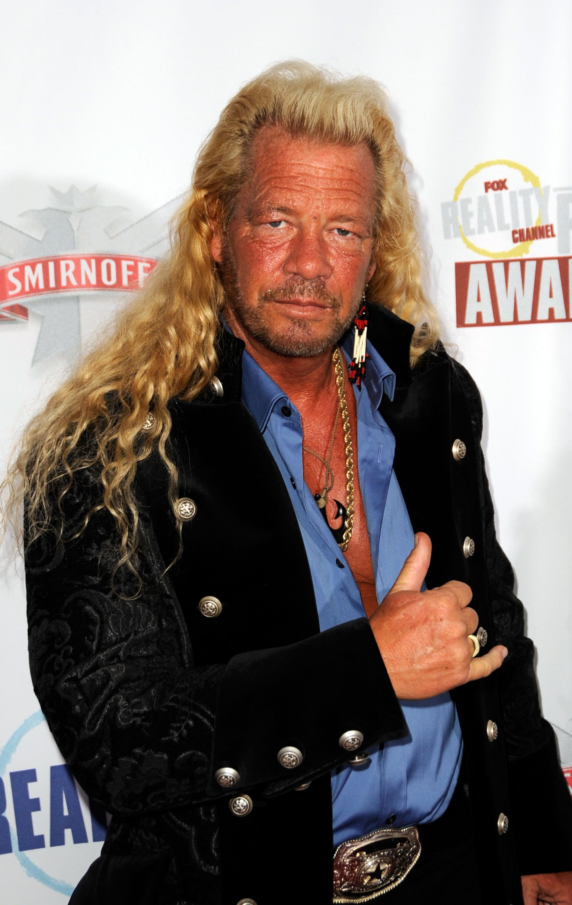 "Duane ""Dog"" Chapman arrives at the Fox Reality Channel Really Awards on September 24, 2008, in Hollywood California. 