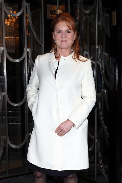 Sarah Ferguson arrives at Claridge's for the Hello! Mother & Daughter Afternoon Tea event to mark the International Day of the Girl | Photo: Getty Images