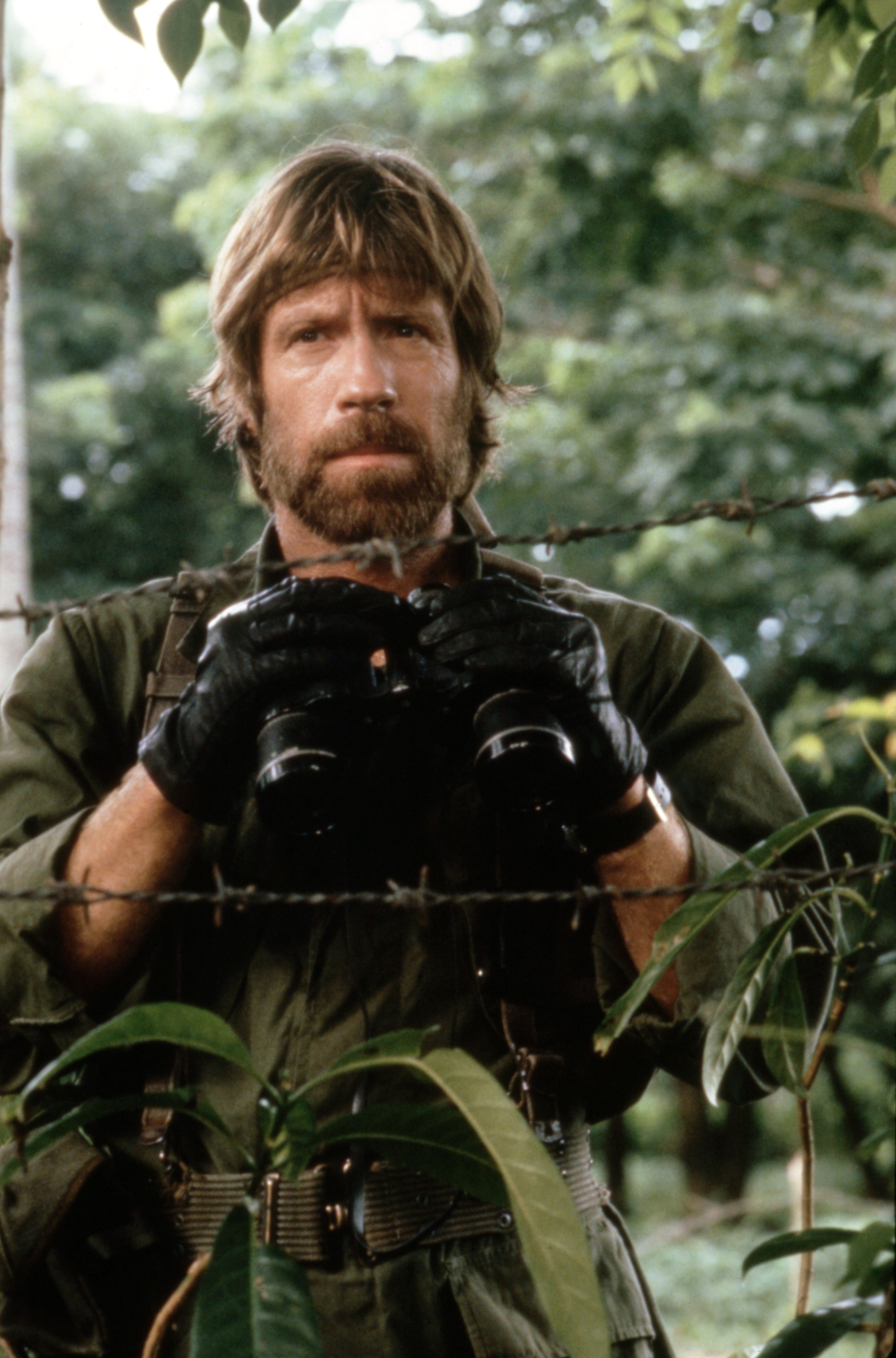 "Chuck Norris in the 1984 film ""Missing in Action"" directed by Joseph Zito. 