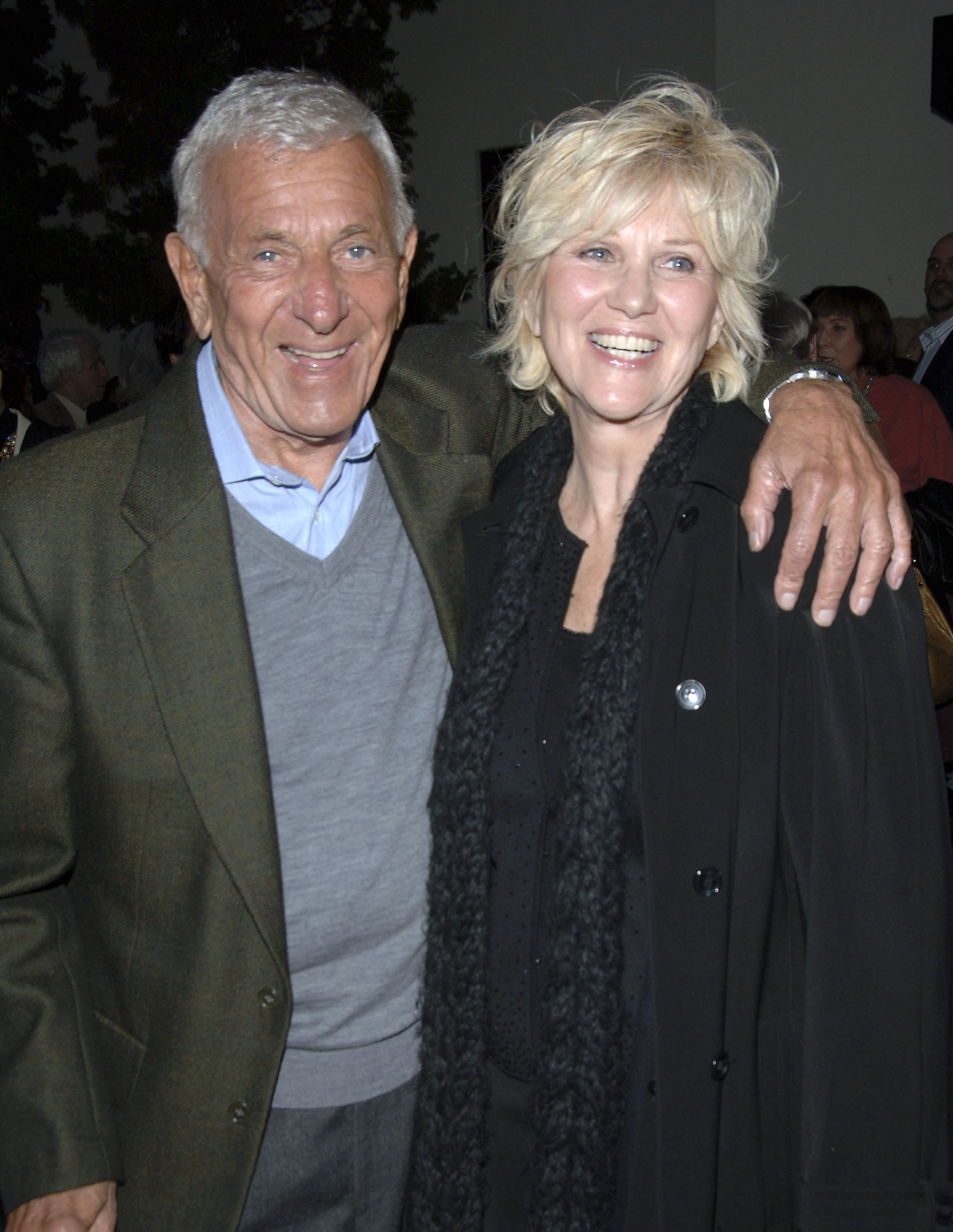 Jack Klugman and Peggy Crosby at the Wadsworth Theatre on April 27, 2006 in Los Angeles, California   Photo: Getty Images