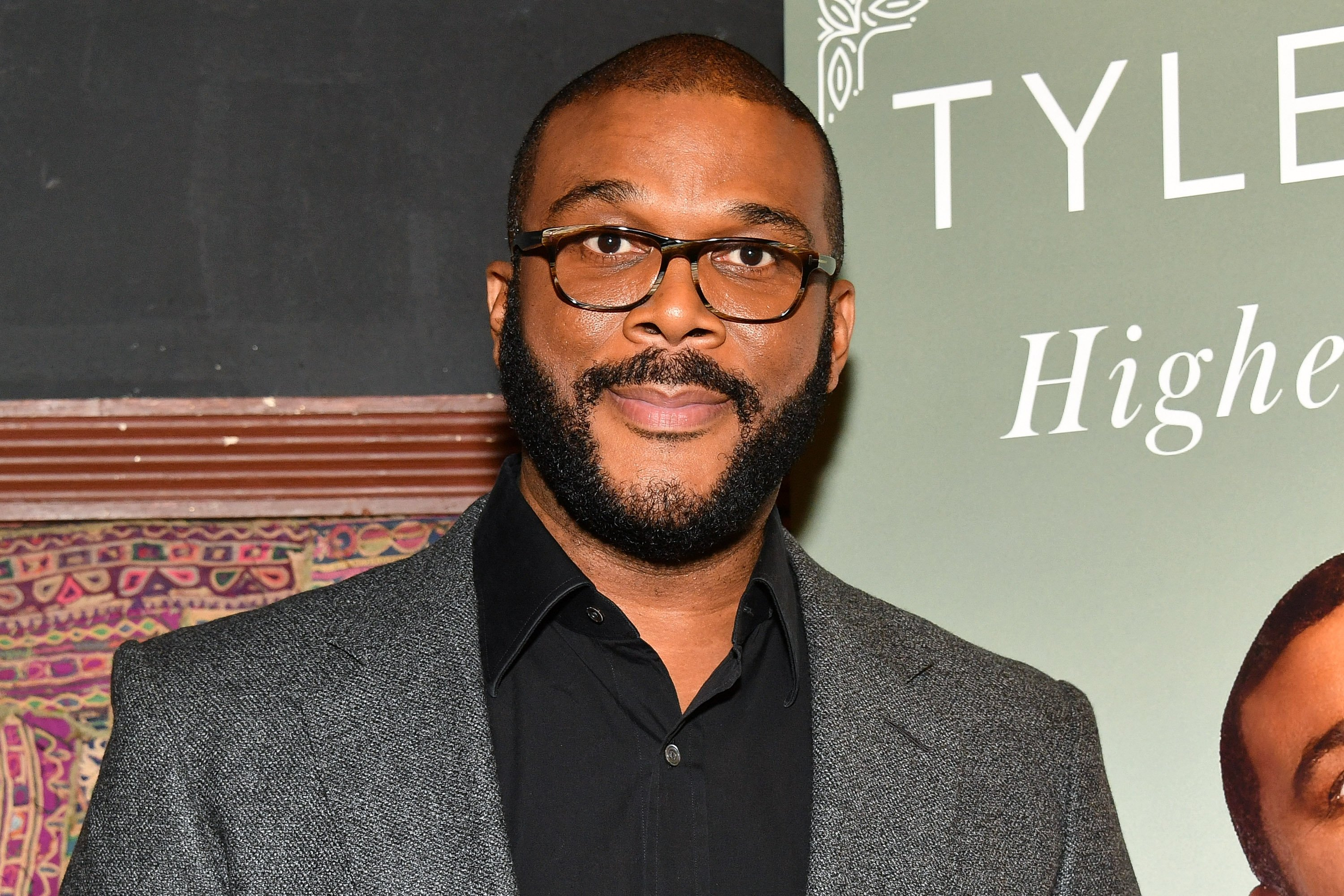 "Tyler Perry launches his  book ""Higher Is Waiting"" at the Gramercy Theatre on November 14, 2017 