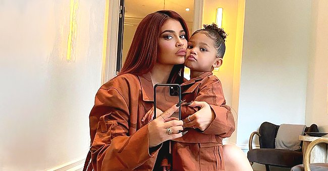 Kylie Jenner's Daughter Stormi Joins Dad Travis Scott during Christmas Food and Toys Drive