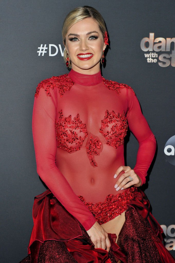"""Lindsay Arnold poses for a photo after the """"Dancing With The Stars"""" Season 28 show at CBS Televison City on October 07, 2019 in Los Angeles, California.   Photo: Getty Images"""