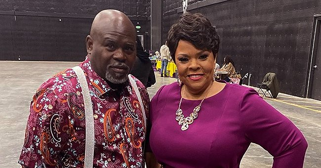 Tamela Mann's Husband David Says His Hands Are Very Ashy & Can't Take All the Washing in New Video