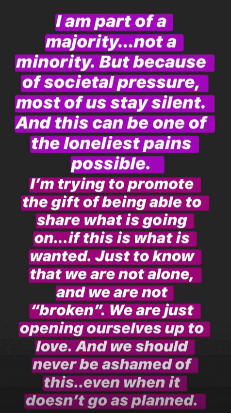 Hilaria Baldwin speaks out against bullies on her Instagram. | Source: Screens from IG stories of   https://www.instagram.com/hilariabaldwin