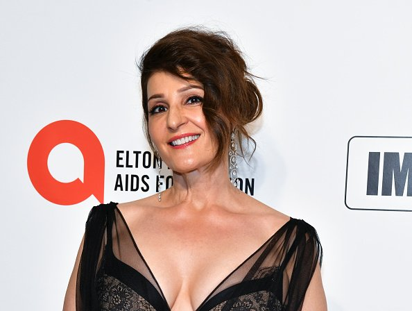 Nia Vardalos attends the 28th Annual Elton John AIDS Foundation Academy Awards Viewing Party Sponsored By IMDb And Neuro Drinks on February 09, 2020 in West Hollywood, California | Photo: Getty Images