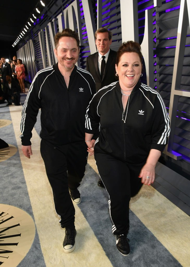 Ben Falcone and Melissa McCarthy attend the 2019 Vanity Fair Oscar Party. | Source: Getty Images