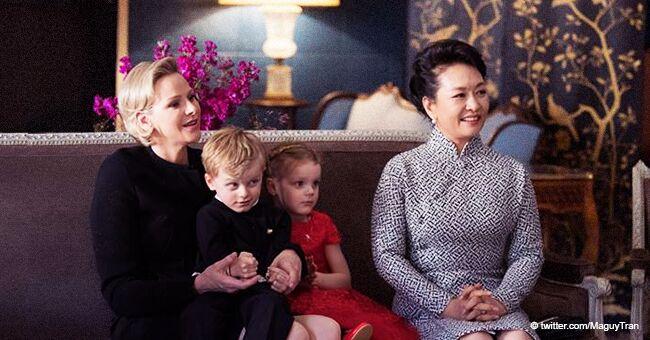 Jacques et Gabriella de Monaco ont été surpris par les adorables cadeaux du président Chinois