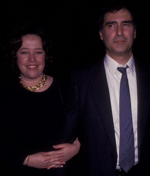 Kathy Bates and Tony Campisi at the Waldorf Astoria Hotel in New York City. | Photo: Getty Images.