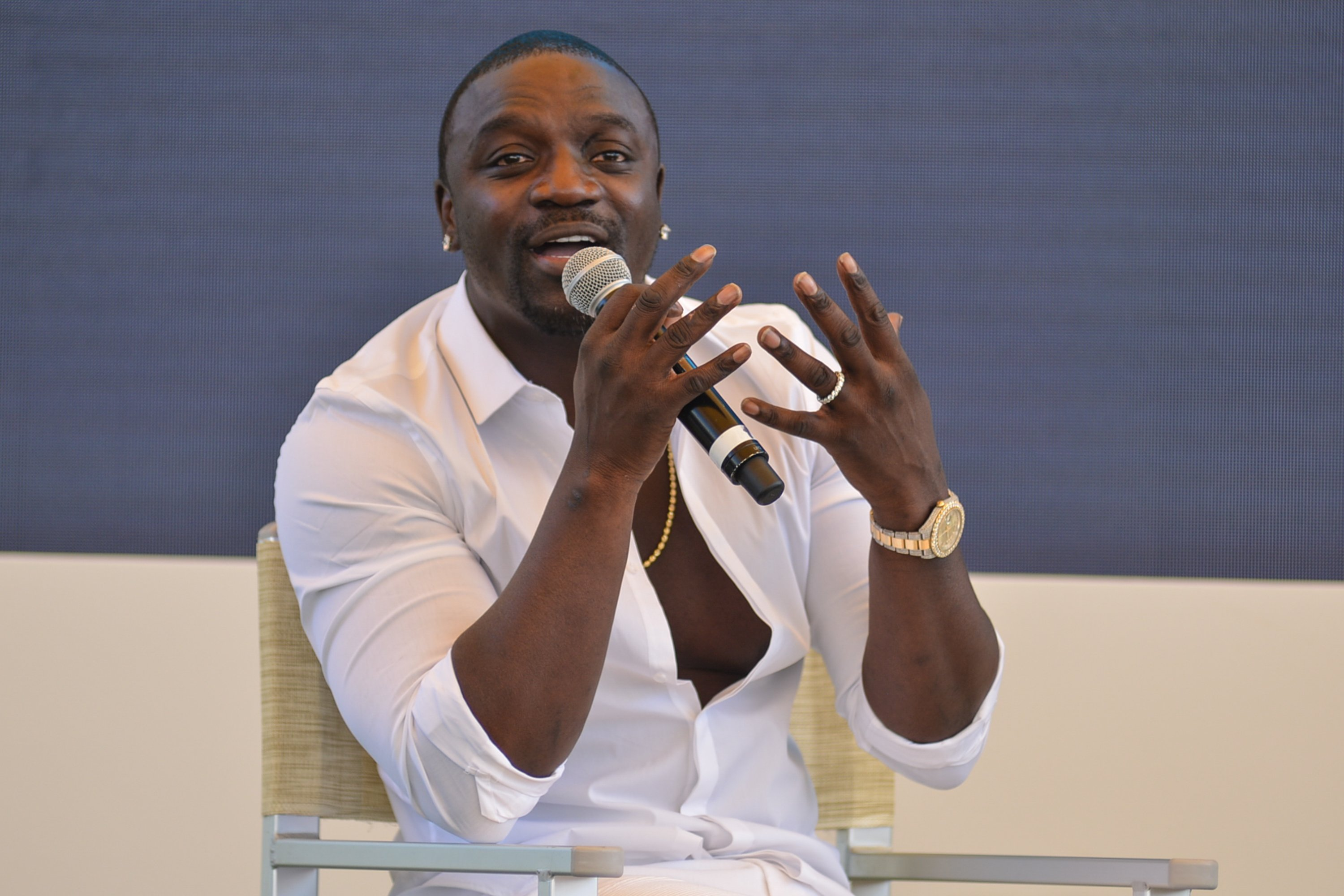 Akon attends the Cannes Lions Festival 2018 on June 19, 2018 in Cannes, France | Photo: Getty Images