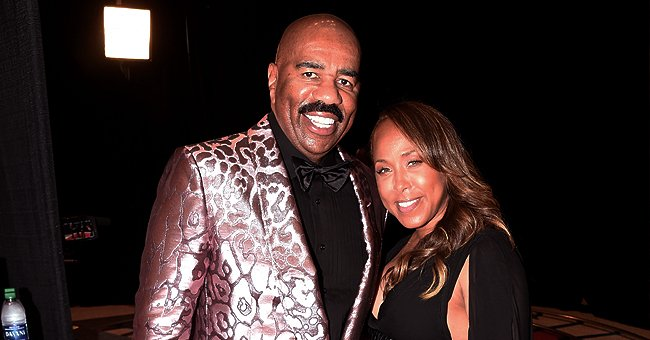 Steve Harvey Shares Video of Highlights from Sand & Soul Festival and His Wife & Kids Partying