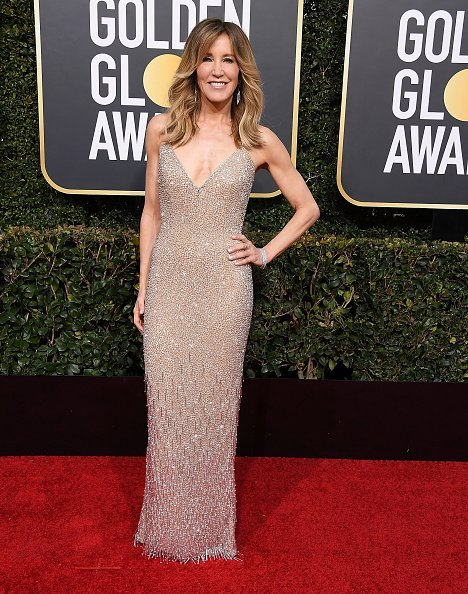 Felicity Huffman at the 76th Annual Golden Globe Awards on January 6, 2019 | Photo: Getty Images