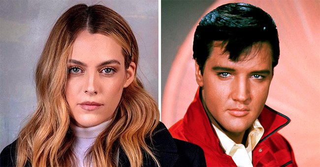 Elvis Presley's Granddaughter Riley Looks a Lot like the Late Star in New Photo with Her Friend