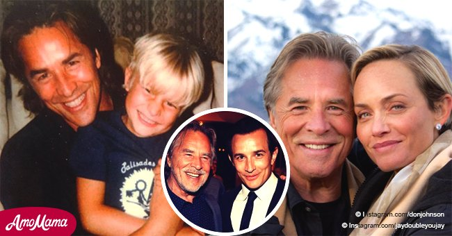 Don Johnson's handsome son is all grown up and he looks so similar to his famous dad