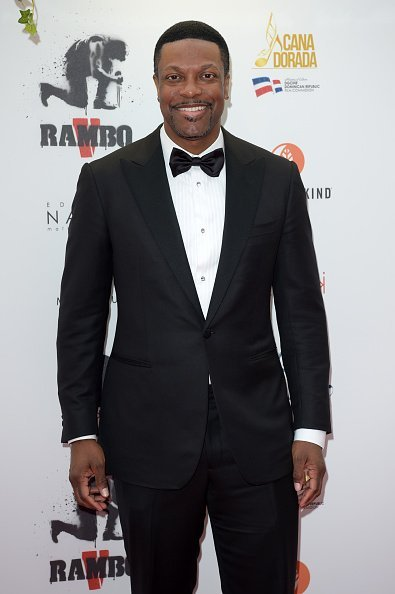 Chris Tucker attends Millennium Media dinner and cocktail reception in honor of Sylvester Stallone on May 24, 2019 in Cannes | Photo: Getty Images