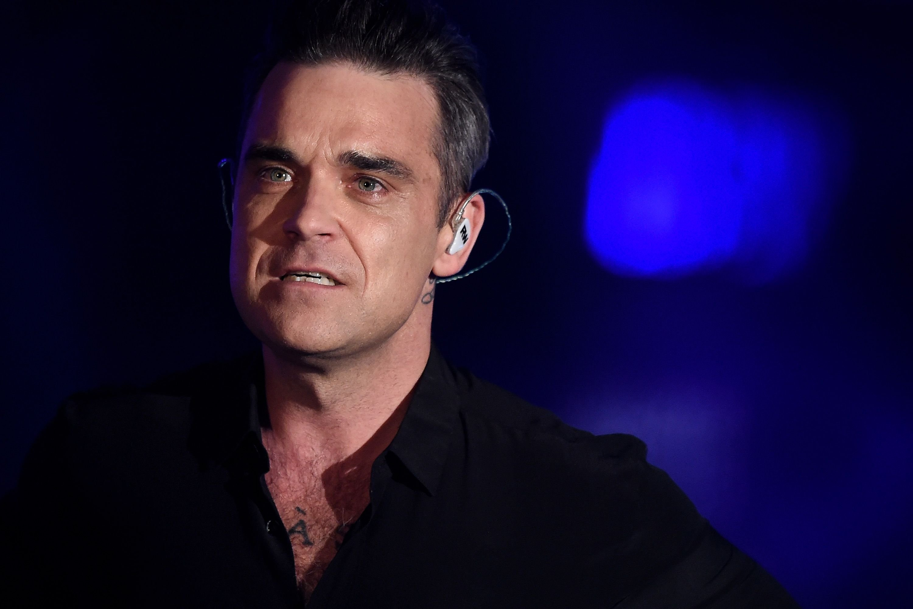 Robbie Williams attends the television show 2016! Menschen, Bilder, Emotionen - RTL Jahresrueckblick. | Source: Getty Images