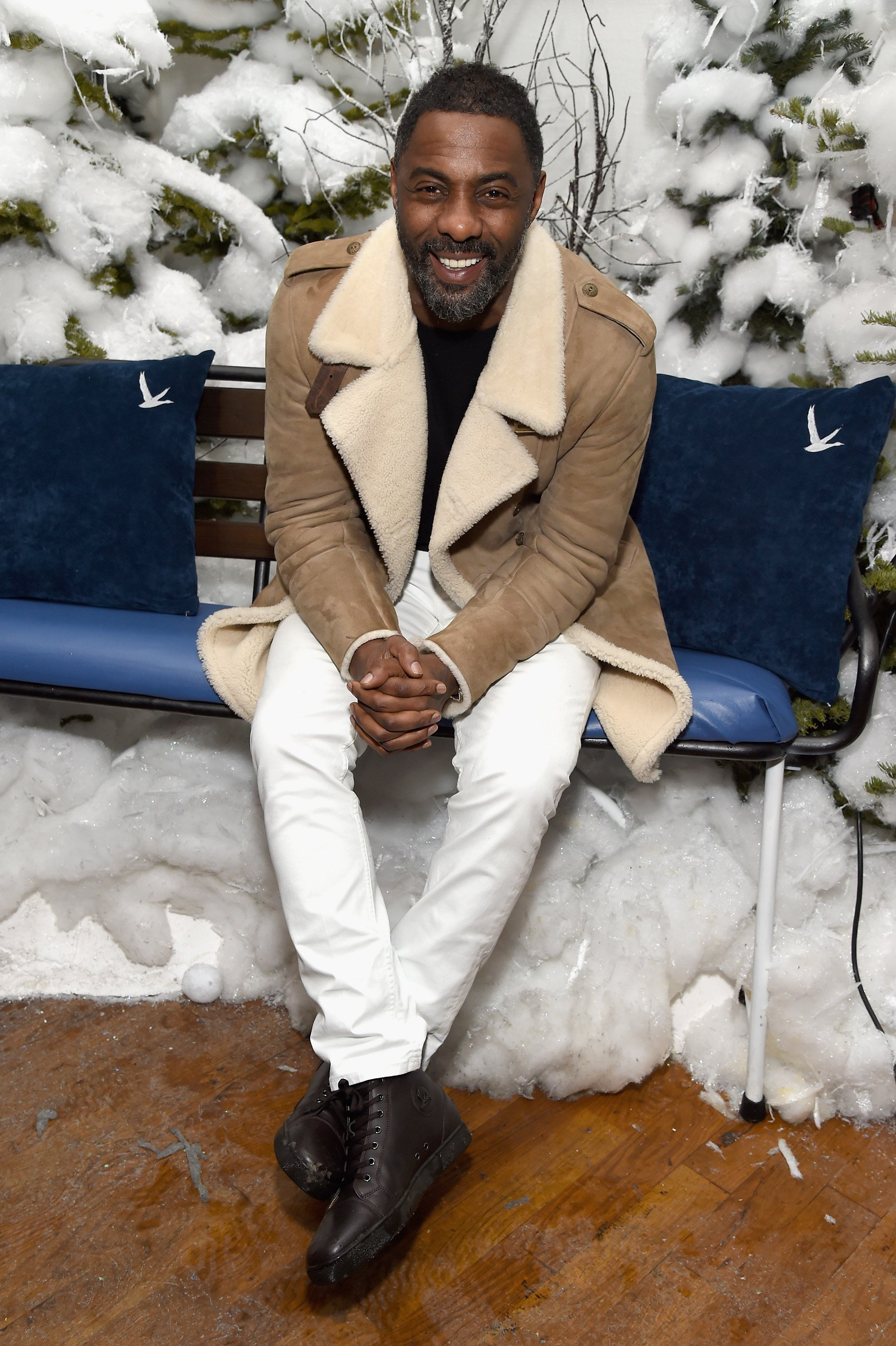 """Idris Elba attends an After Party for """"Yardie"""" in Park City, Utah on January 20, 2018 