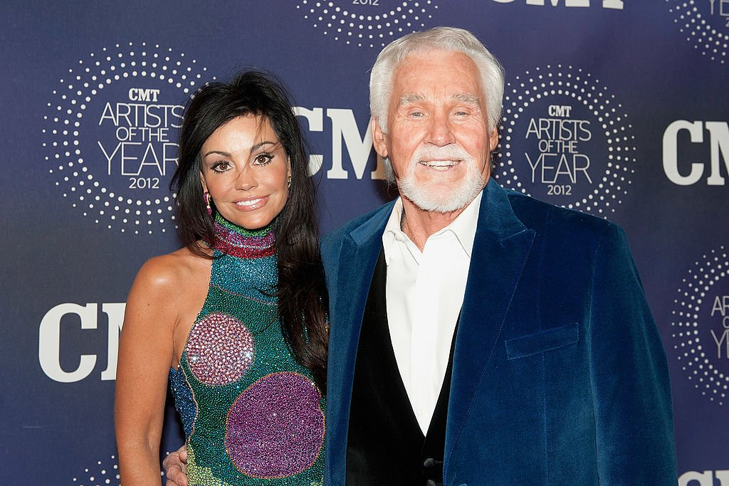 """Wanda Rogers and Kenny Rogers attend the 2012 CMT """"Artists Of The Year"""" Awards at The Factory At Franklin on December 3, 2012 in Franklin, Tennessee.   Source: Getty Images"""