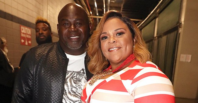 Tamela and David Mann Look So in Love as They Share a Kiss during Sunset in a Sweet Photo