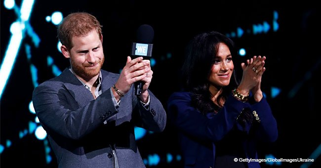 Prince Harry Surprises 12,000 Students by 'Dragging' Meghan on Stage and the Crowd Goes Wild