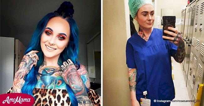 'World's most tattooed doctor' reveals the judgment she has faced because of her skin art
