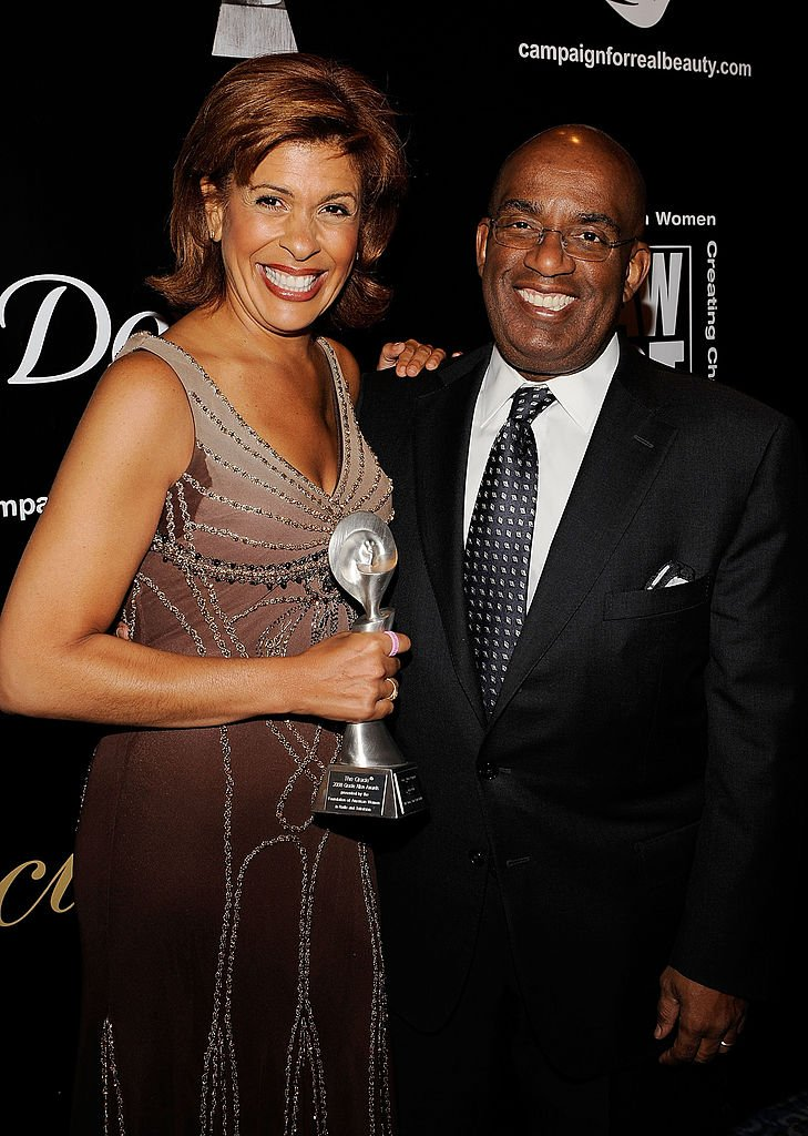 Hoda Koth and Al Roker attend the 33rd Annual American Women In Radio & Television Gracie Allen Awards at the Marriott Marquis on May 28, 2008   Photo: Getty Images