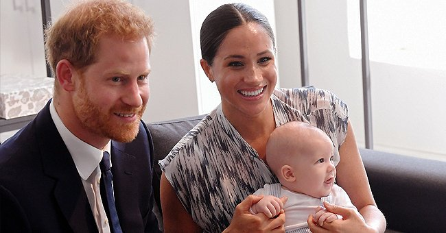 People: Prince Harry & Meghan Markle's Son Archie Is Enjoying the New House with a Playground